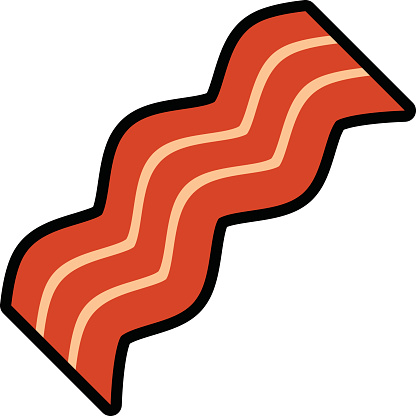 Streaky Meat Clip Art, Vector Images & Illustrations.