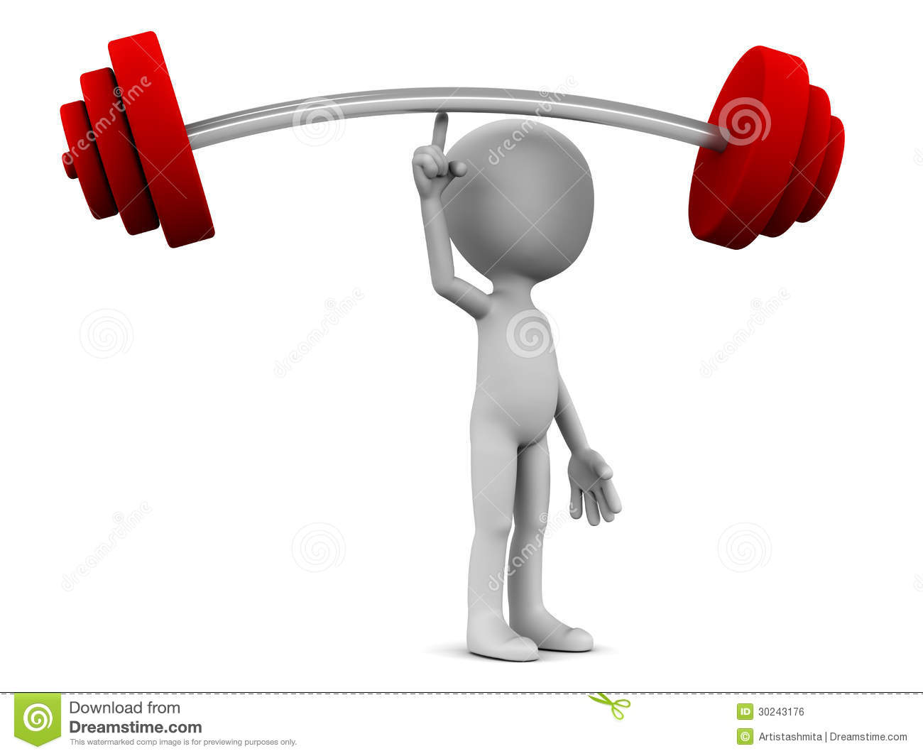 Business Strength Clipart.