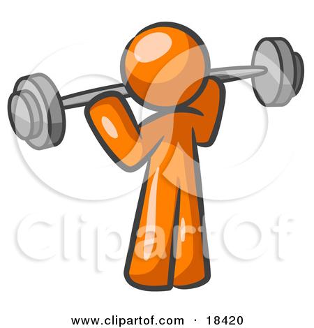 Strength training clipart.