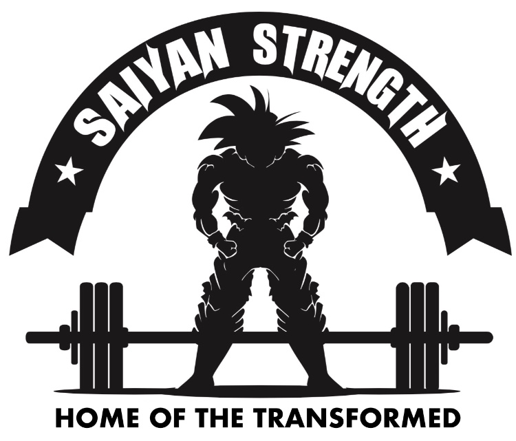 Saiyan Strength Logo.