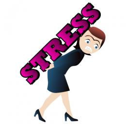 Funny Stressful Clip Art.