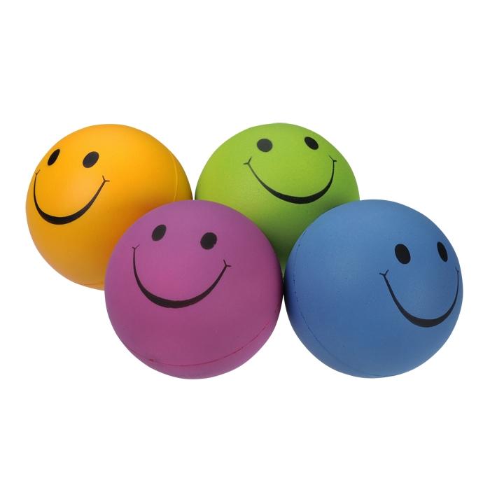 Smiley Face Mood Stress Ball.