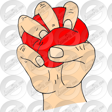 Stress Ball Picture for Classroom / Therapy Use.