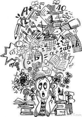 Procrastinator Clipart.