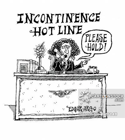Incontinence Cartoons and Comics.