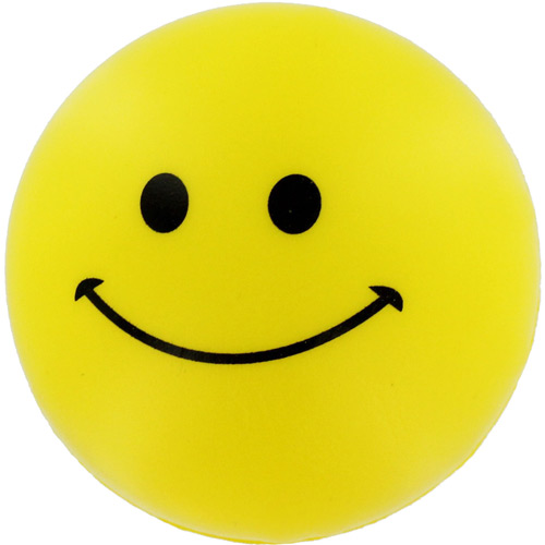 Smiley Face Stress Reliever.