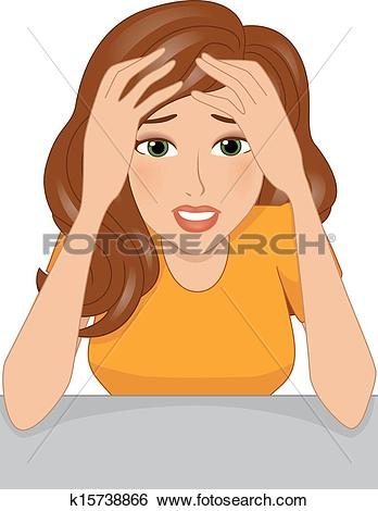 Stressed Clipart and Illustration. 18,589 stressed clip art vector.