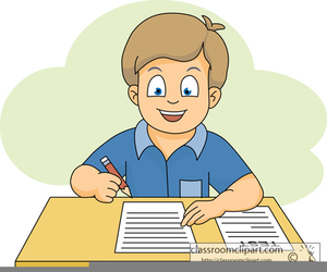 Stressed Student Clipart.