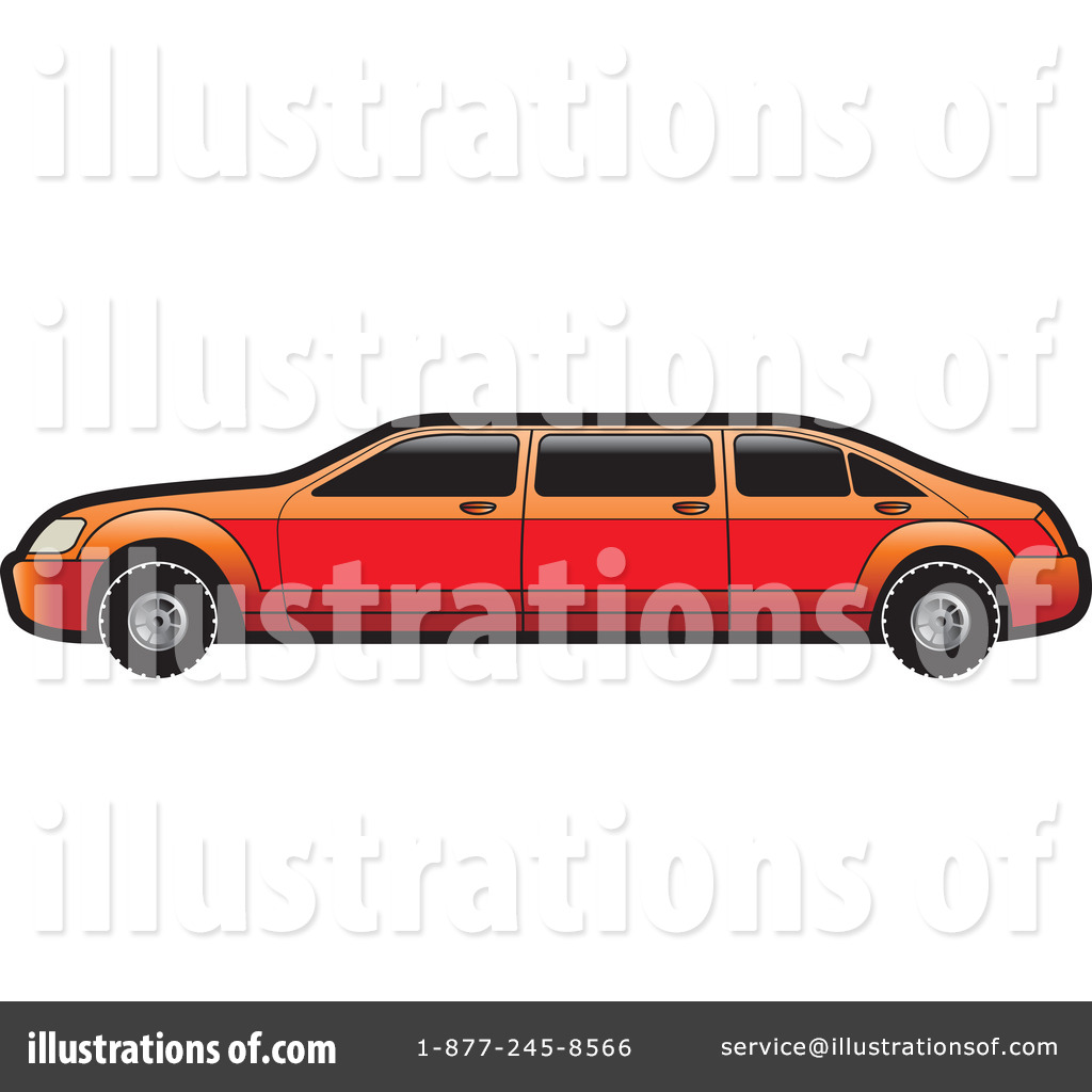 Limo Clipart #1100970.