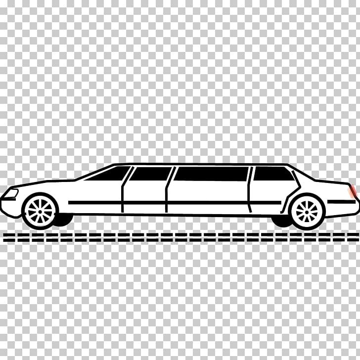 Limousine Car Sedan Volvo S90 AB Volvo, stretch limo PNG.