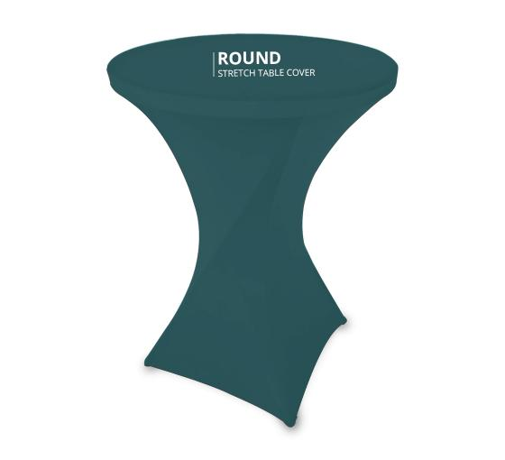 Round Stretch Table Covers.