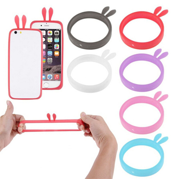 Stretchable mobile phone bumper.