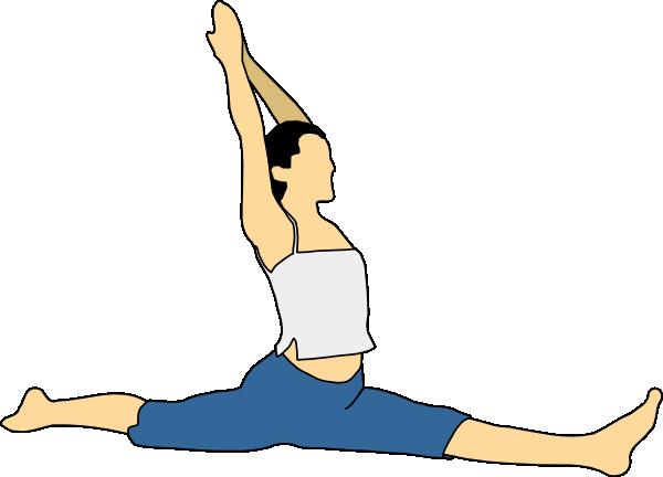 Stretching Clip Art Free.