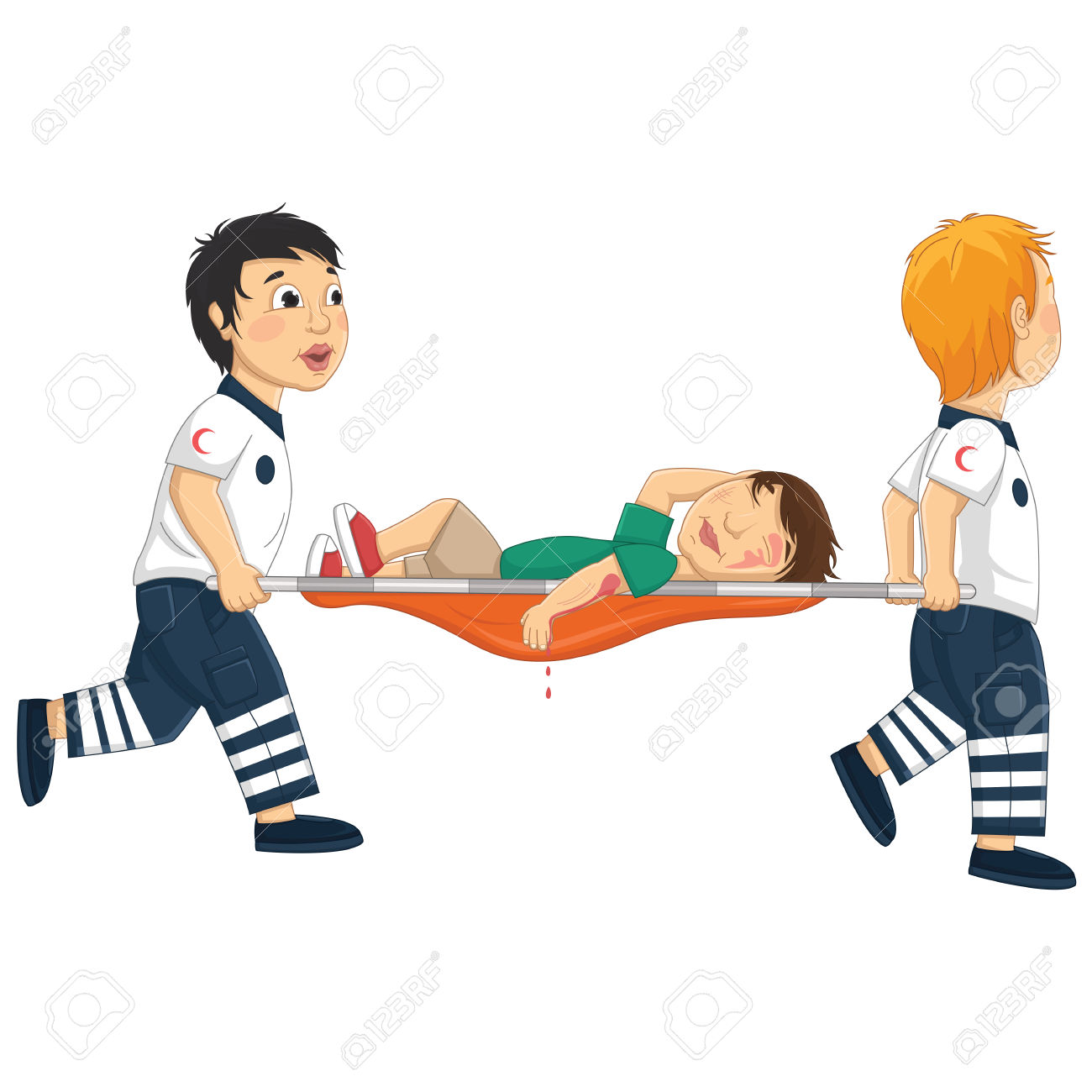 2,600 Stretcher Stock Vector Illustration And Royalty Free.