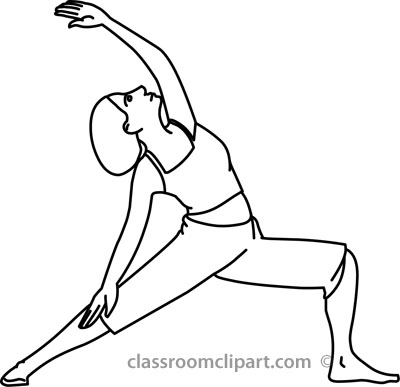 Exercise Clipart Black And White.