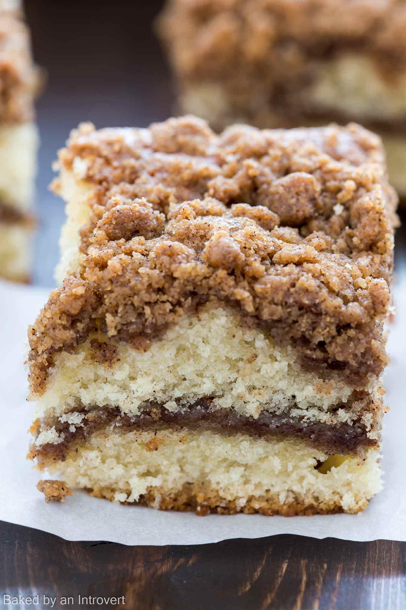 Cinnamon Crumb Coffee Cake Recipe.