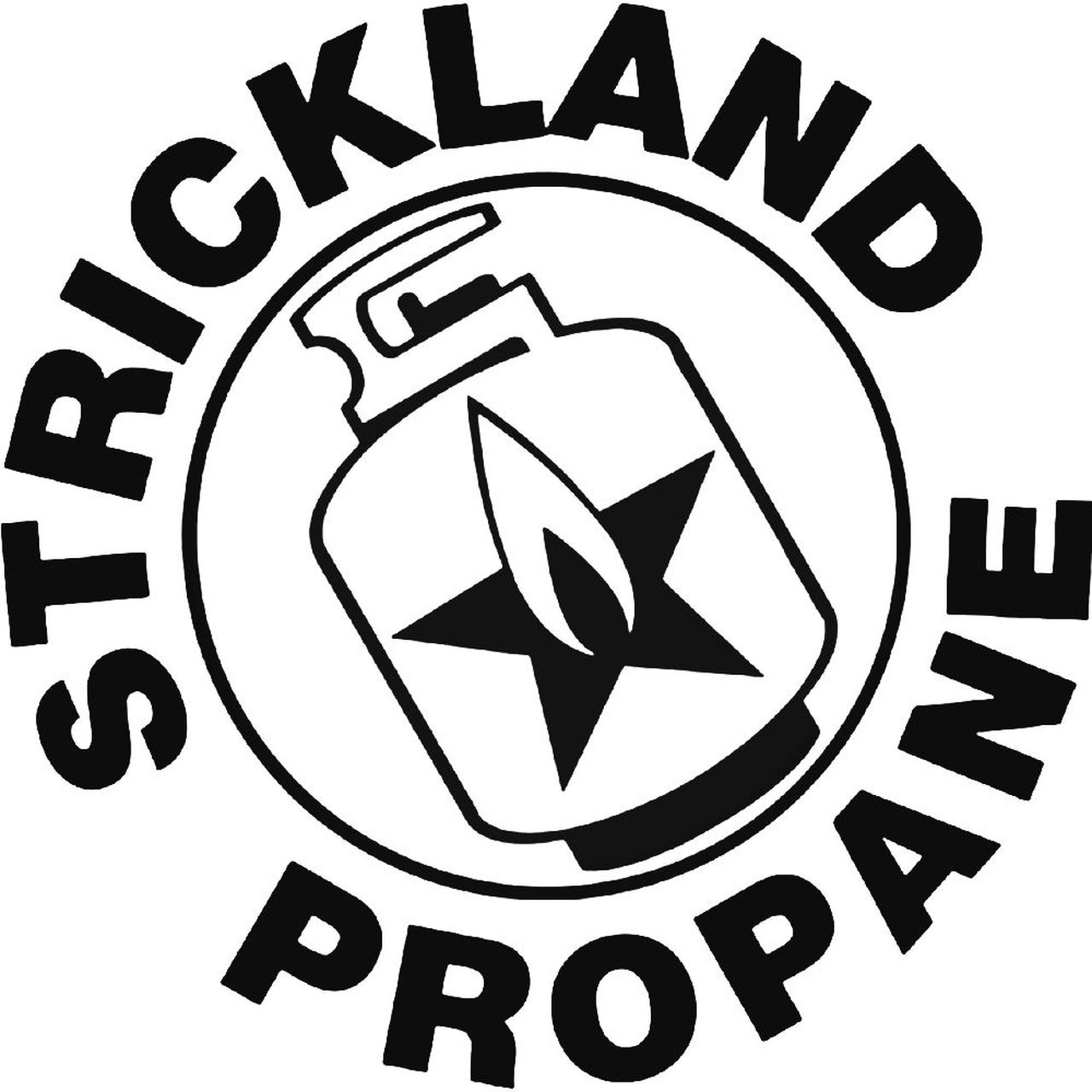 King Of The Hill Strickland Propane 987 Decal Sticker.