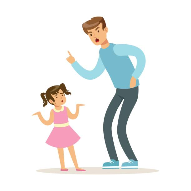 Parents clipart strict father.