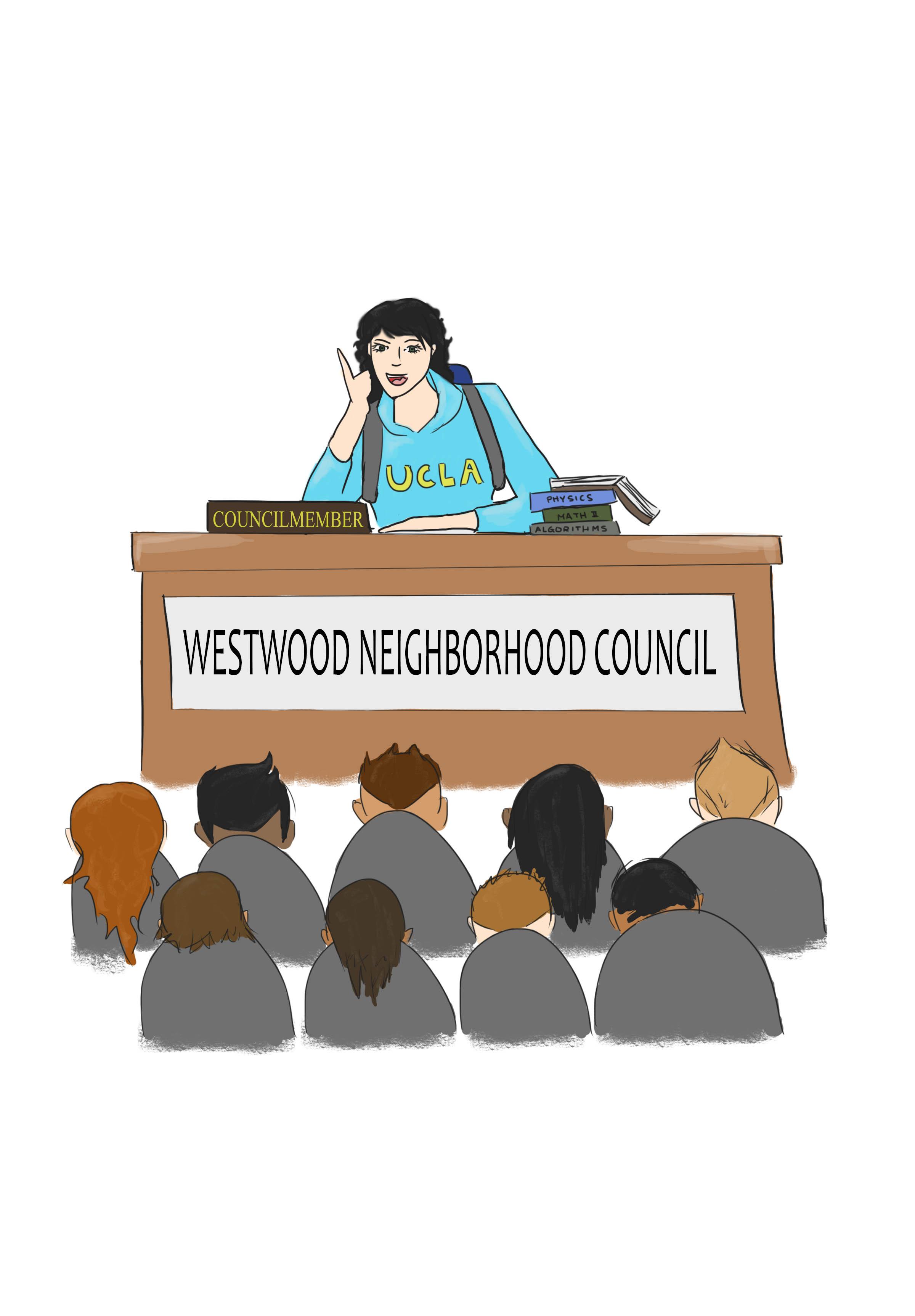 Shani Shahmoon: Students should run for Westwood Neighborhood.
