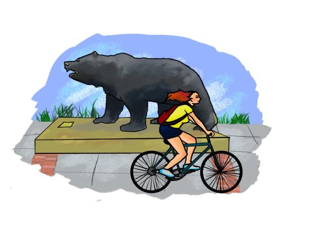 Effectivity of campaign to make UCLA bike.