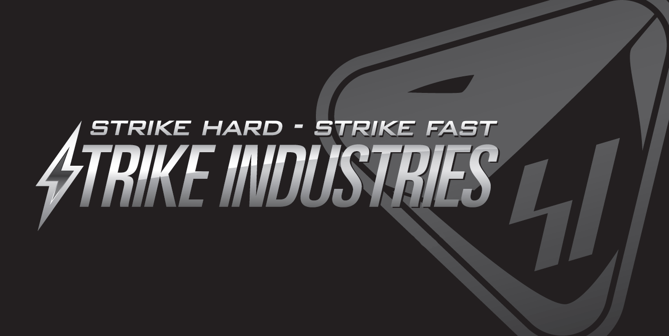 Strike Industries.