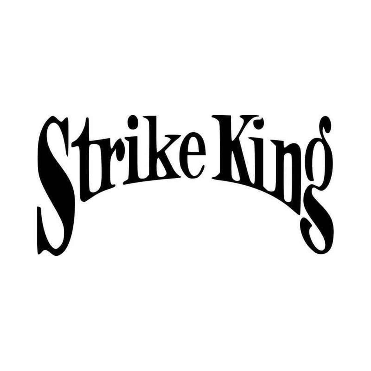 Strike King Logo Vinyl Decal Sticker.