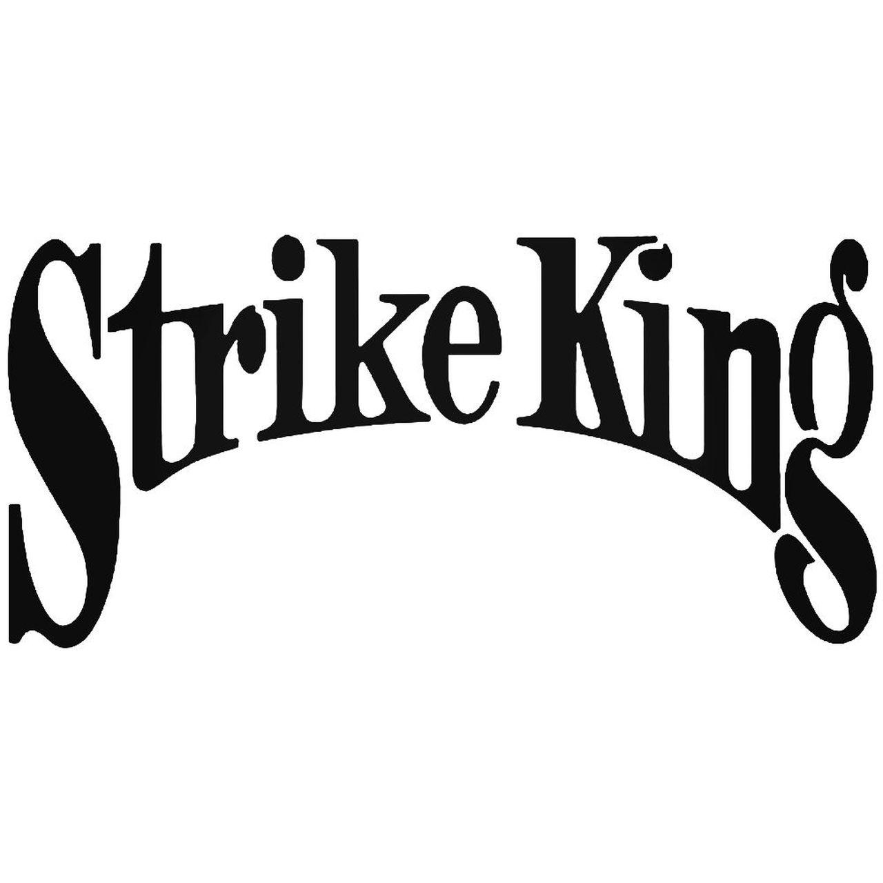 Strike King 1 Vinyl Decal Sticker.