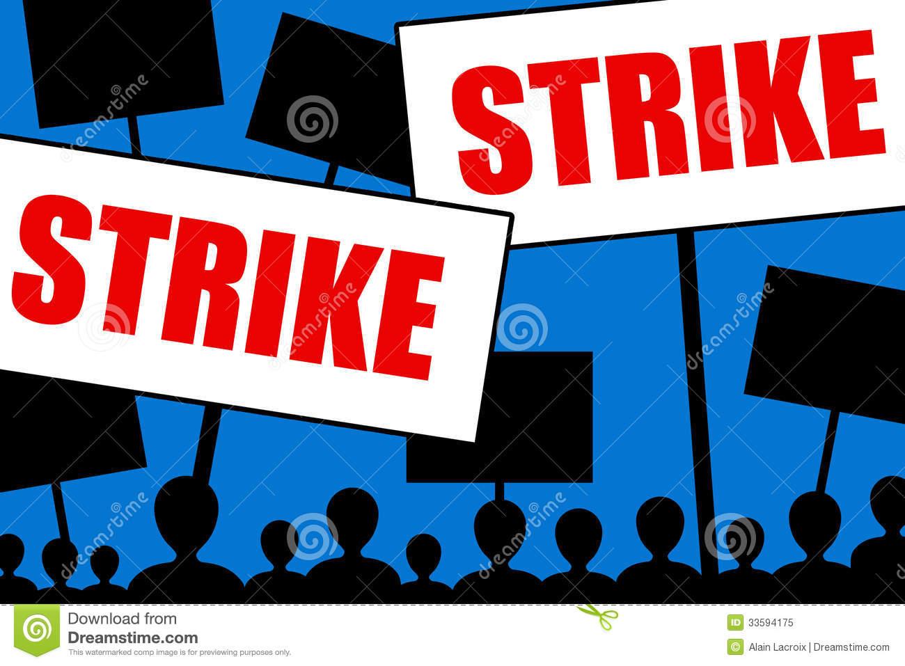 Strikes Stock Illustrations.