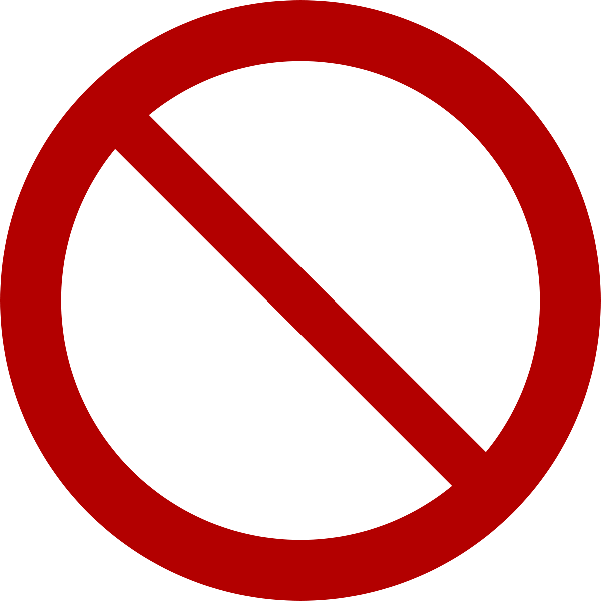 No symbol.
