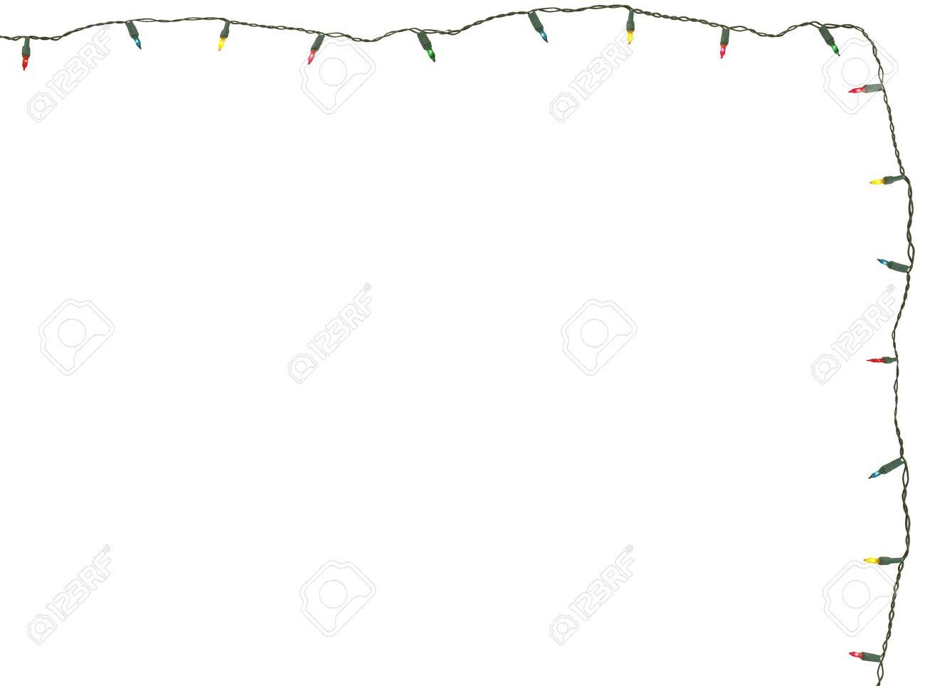 White Christmas Lights Strands