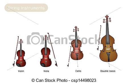 Stringed instruments clipart #13