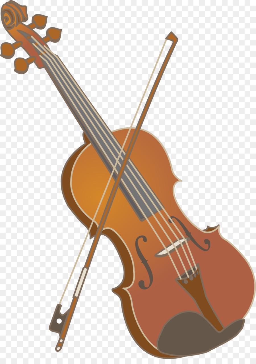 Violin Cartoon clipart.