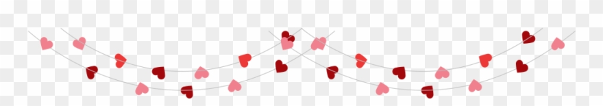 This Is A Sticker Of A String Of Hearts Clipart (#3064912.