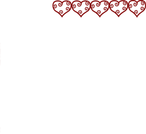 Row Of Hearts Clip Art at Clker.com.