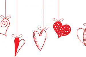 String of hearts clipart 1 » Clipart Portal.
