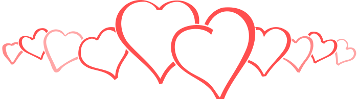 Free Valentine Borders Clipart.