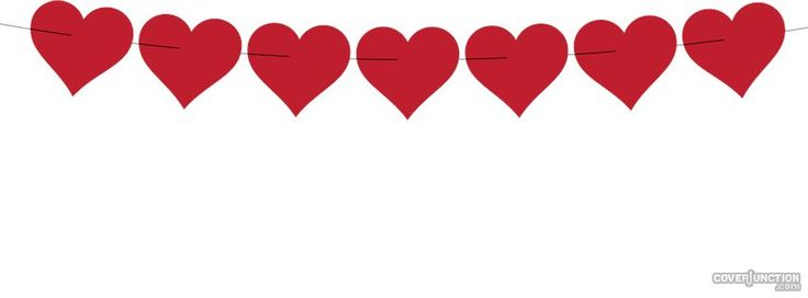 String of hearts clipart 1 » Clipart Station.