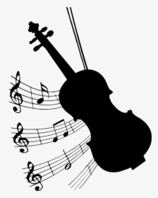 Violin Musical Instrument Icon.
