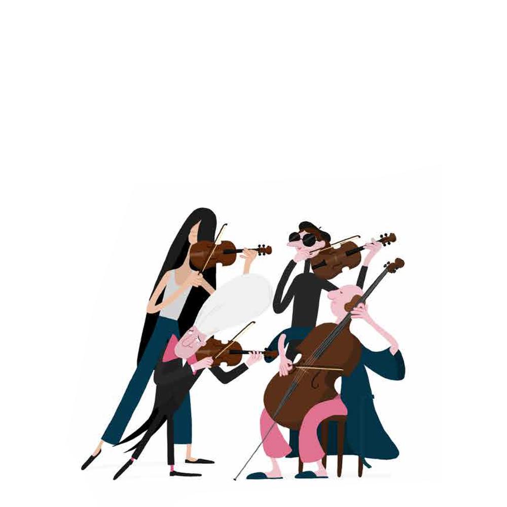 String quartets — The School of Music.