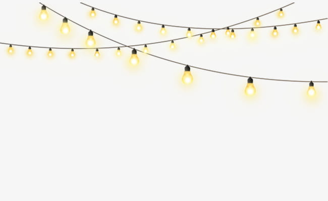 Free creative pull string lights lighting PNG clipart.