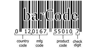 Scan Barcode Laser Strip Stock Illustrations.