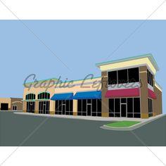 strip mall design photos.