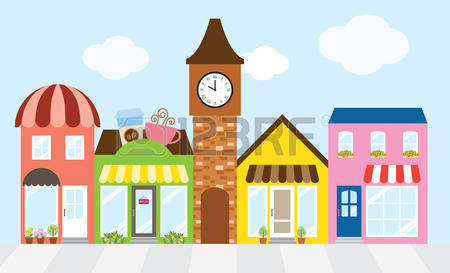 116 Strip Mall Stock Illustrations, Cliparts And Royalty Free.