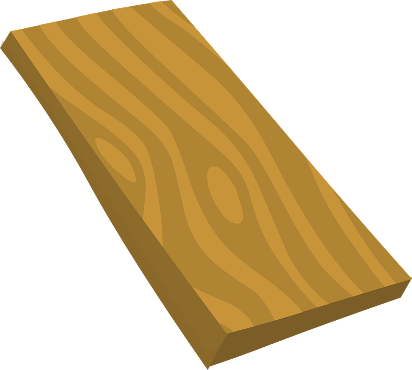 Wood plank clipart no background.