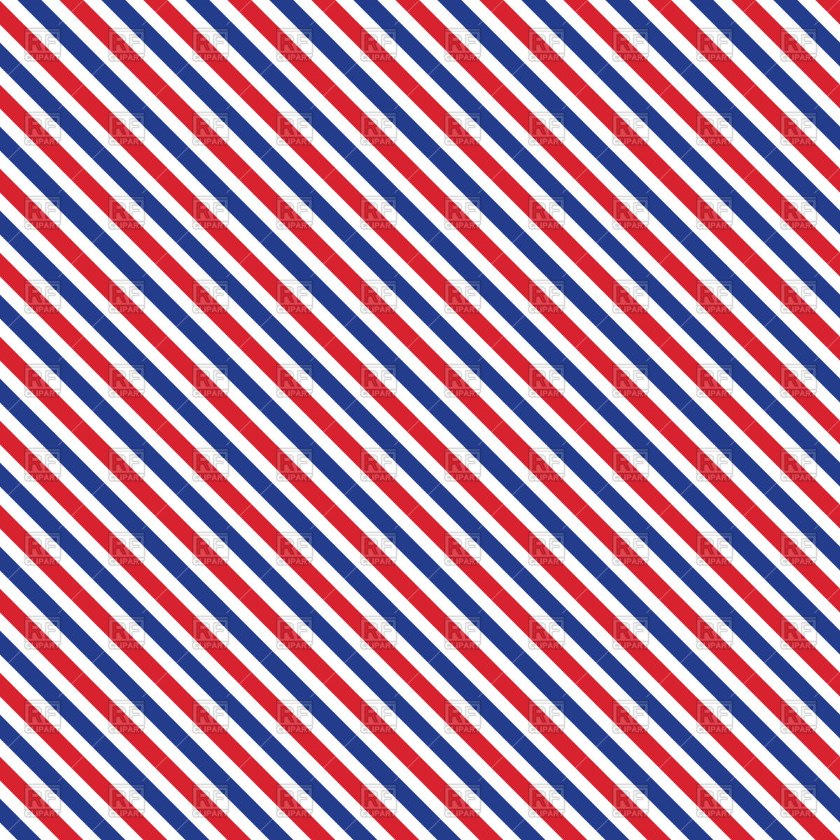 Red blue and white striped background Vector Image #126950.