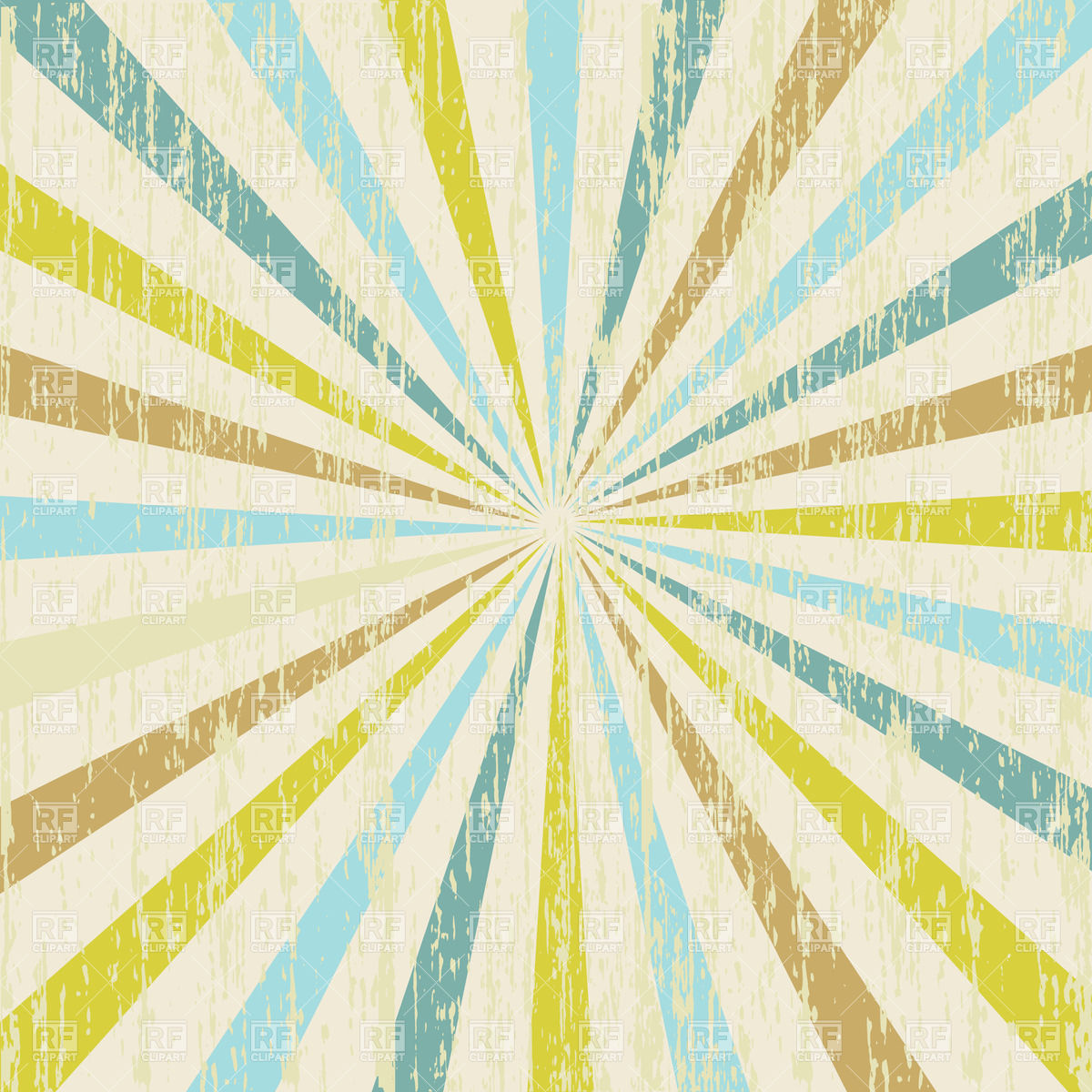 Abstract background made of grunge radial stripes Vector Image.
