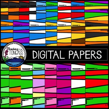 Striped Background Papers Clipart.