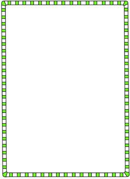 Double Line Striped Border Clipart.