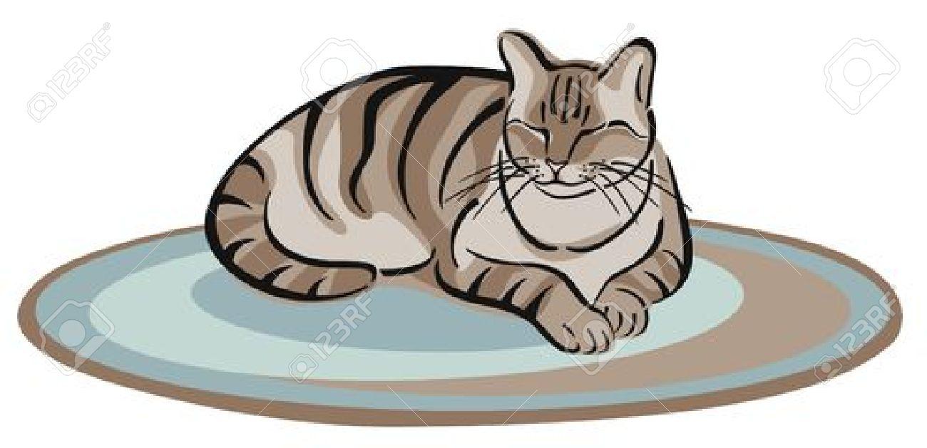 Tabby Cat Clipart.
