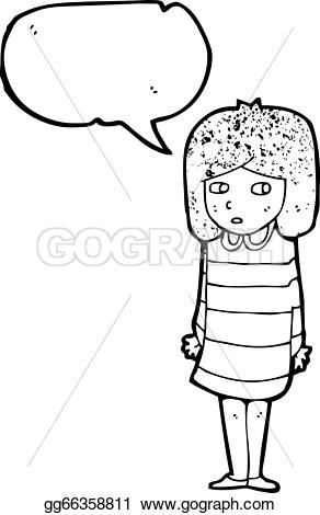 striped dress clipart black and white #2